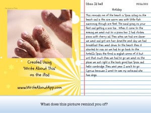 Created using write about this on the iPad